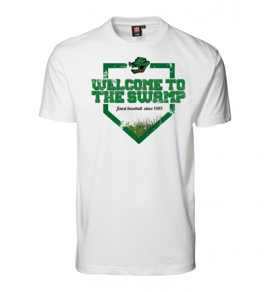 "T-Shirt ""Welcome to the Swamp"" for Gents"