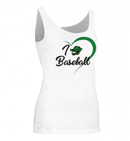 "Stretch-Top ""I Love Baseball"" for Ladies"