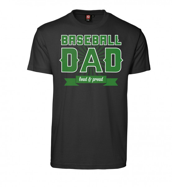 "T-Shirt ""Baseball Dad"" for Gents"