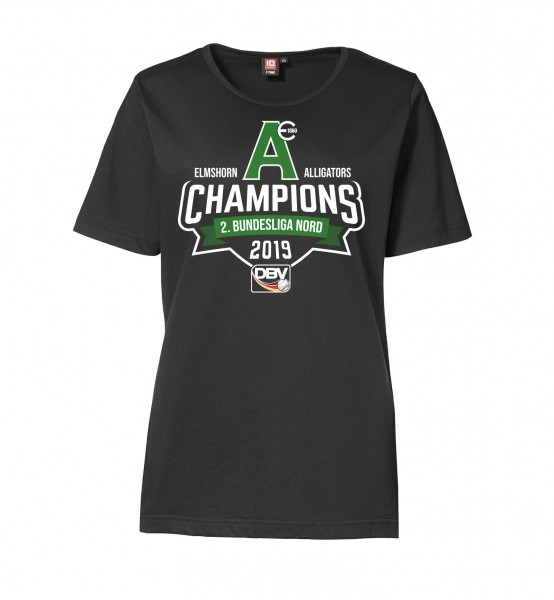 """T-Shirt """"Champions 2019"""" for Ladies"""