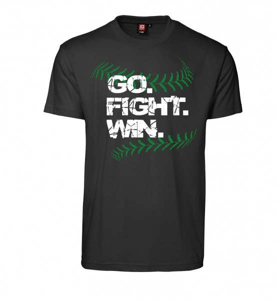 "T-Shirt ""Go. Fight. Win."" for Gents"