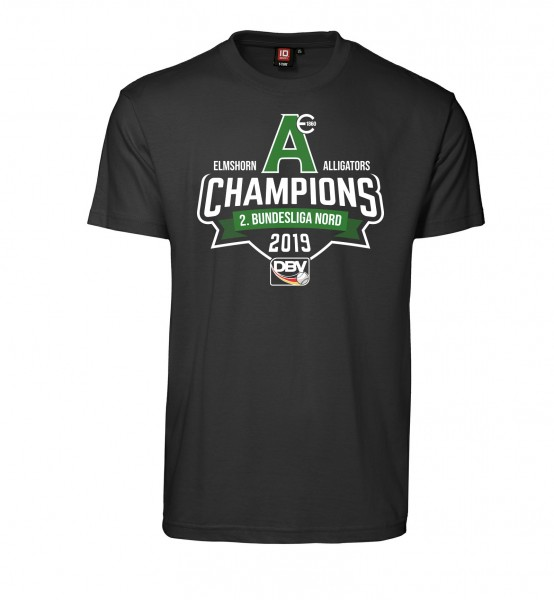 """T-Shirt """"Champions 2019"""" for Gents"""