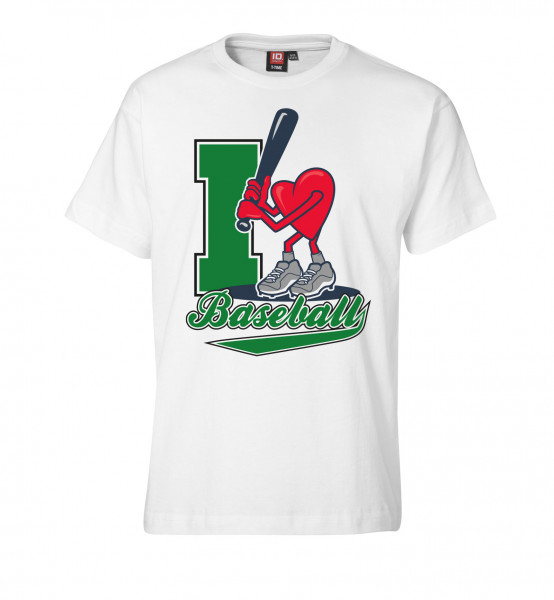 "T-Shirt ""I Love Baseball"" for Kids"